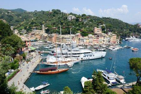 The beautiful bay of Portofino