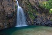 Thajsko vodopád v kanchanaburi
