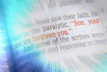 SON, YOUR SINS ARE FORGIVEN YOU