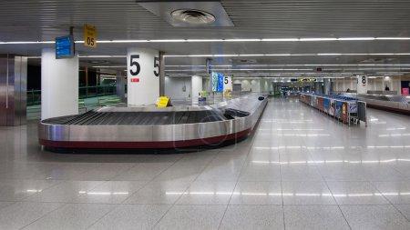 Conveyor belt in Lisbon airport