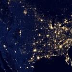 United States of America at night