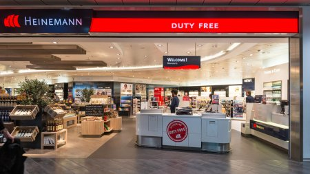 Duty free inside Bologna airport