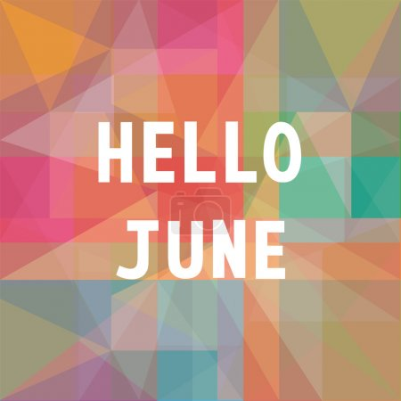 Hello June card1