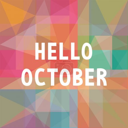 Hello October card1