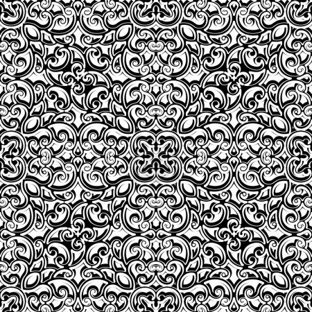 Vintage black and white pattern