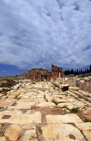 Hierapolis in Turkey. Pamukkale