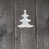 Christmas silver decoration