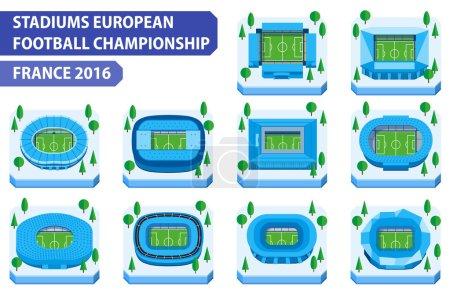Stadiums european football championship