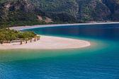 Oludeniz je jedním z nejslavnějších pláže v Turecku