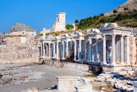 Ruins of ancient temple in Sagalassos