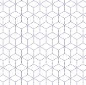 Gray white minimal cubes seamless pattern