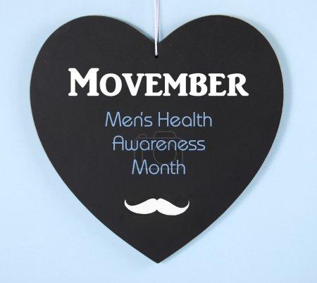 Movember Mens Health Charity in November