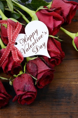 St Valentines Day red roses