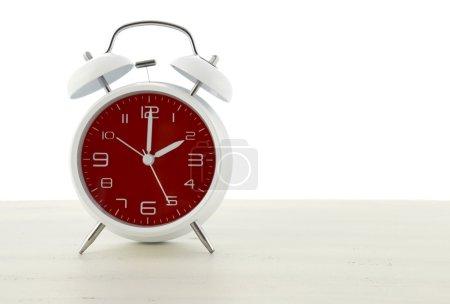 Daylight Saving Time with retro style alarm clock ...