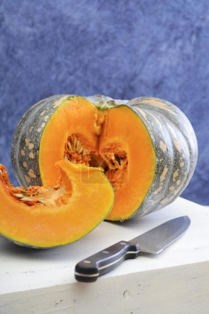 Autumn Harvest pumpkin food preparation.