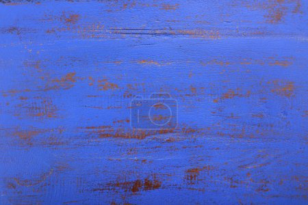 Dark blue rustic wood background.