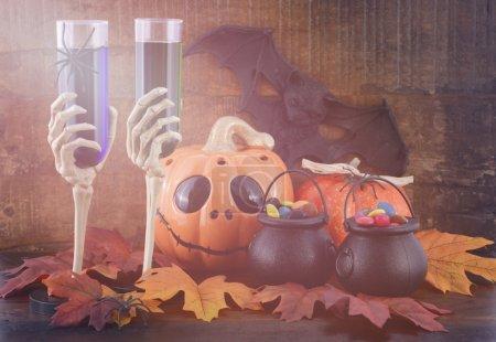 Happy Halloween Zombie Party Decorations.