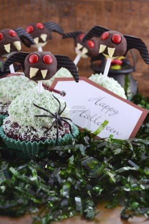 Happy Halloween Ghoulish Cupcakes