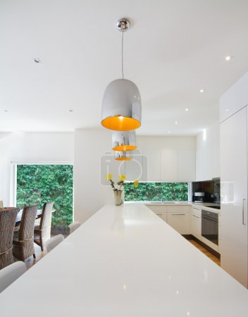 Modern open plan Australian kitchen and dining renovation