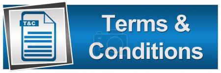 Terms and Conditions Blue Grey Banner
