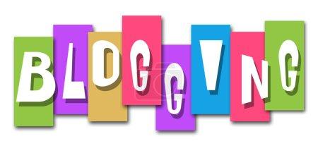 Blogging Colorful Stripes
