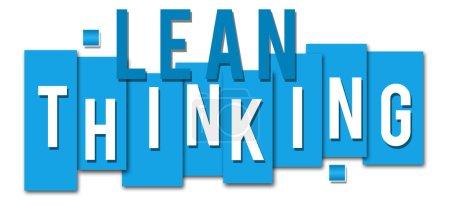 Lean Thinking Blue Stripes