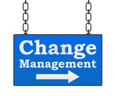 Change Management Signboard
