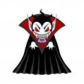 Vampire man cartoon character