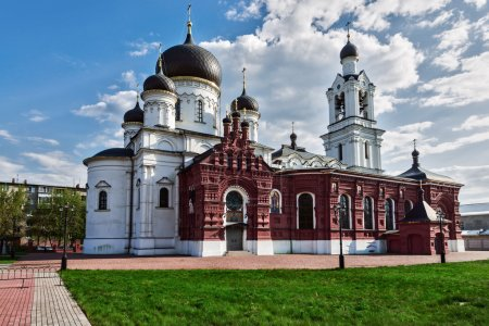 Church architecture of the city of Noginsk.