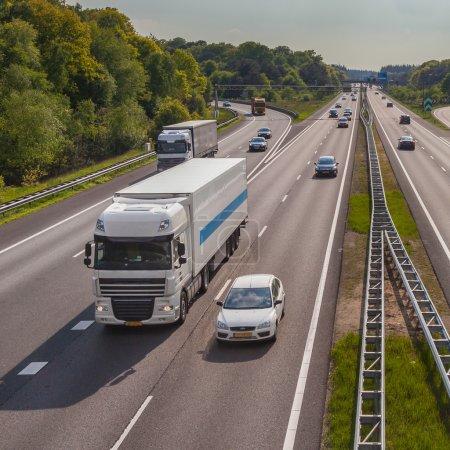 Motorway Traffic on the A12 Motorway