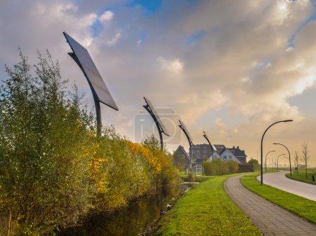 Foto de Iniciativa Local de Energía Solar Renovable Comunitaria - Imagen libre de derechos