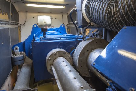 Inside of Wind Turbine Nacelle