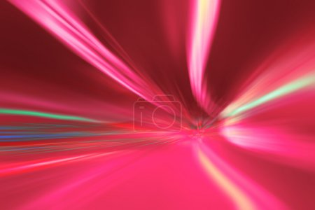 Abstract tunnel lights