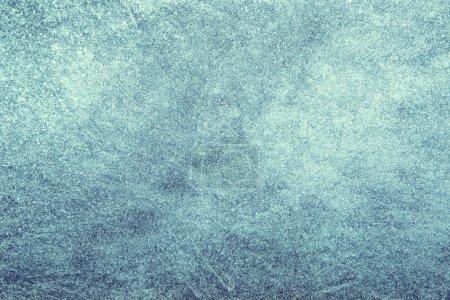 Photo pour Turquoise bleu couleur abstrait glace texture copier espace arrière-plan . - image libre de droit