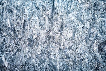 Blue compressed osb surface background