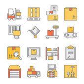 Storage line icons