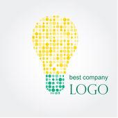 Light bulb idea vector illustration Logo concept