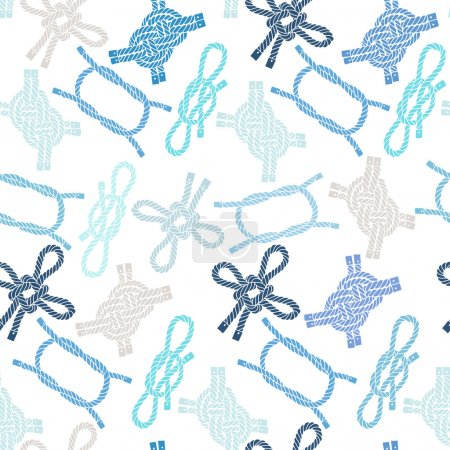 Pattern with marine knots