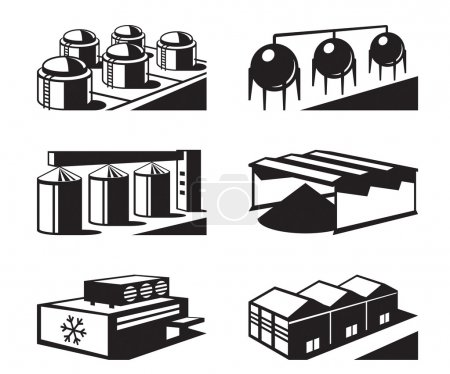 Commercial and industrial warehouses