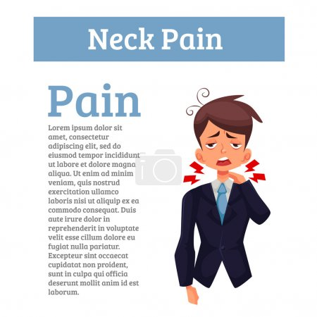 Work experiences pain in the neck