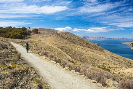 Adventures on Island of the Sun, Titicaca Lake, Bolivia