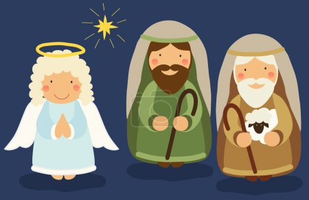 characters of Nativity scene