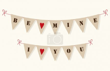 I Love You and Be Mine decoration