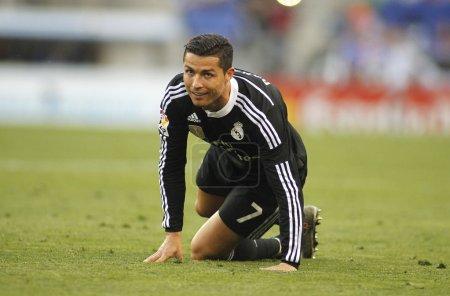 Cristiano Ronaldo of Real Madrid
