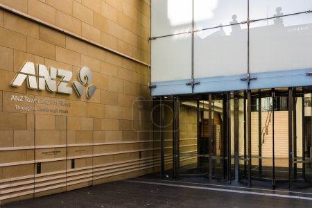 ANZ Bank Cantre building on