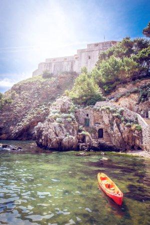 Kayak in Dubrovnik, Croatia