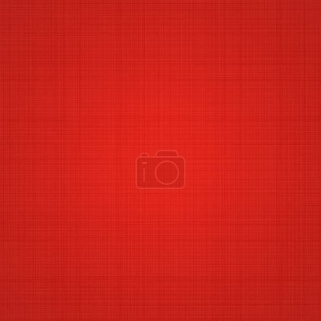 Illustration for Texture Background Of Red Fabric. Vector Illustration - Royalty Free Image