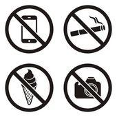 Zakázané znaky