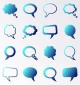 Vektorové projevu a myšlení bubliny