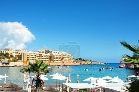 Small beach in Malta
